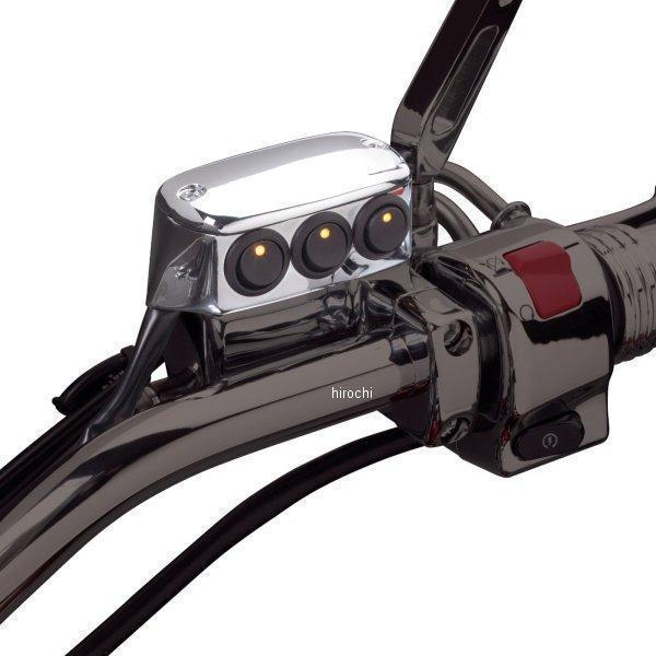 【メーカー在庫あり】 418019 ショークローム Show Chrome LED 3ボタン スイッチ ブレーキサイド クローム 418019 HD