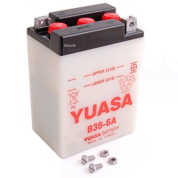 【USA在庫あり】 ユアサ YUASA バッテリー 開放型 6V B38-6A HD店