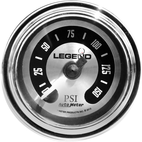 【USA在庫あり】 レジェンド LEGENDS 空気圧ゲージ 0-150psi フェアリング用 アルミ/ライト 2212-0492 HD