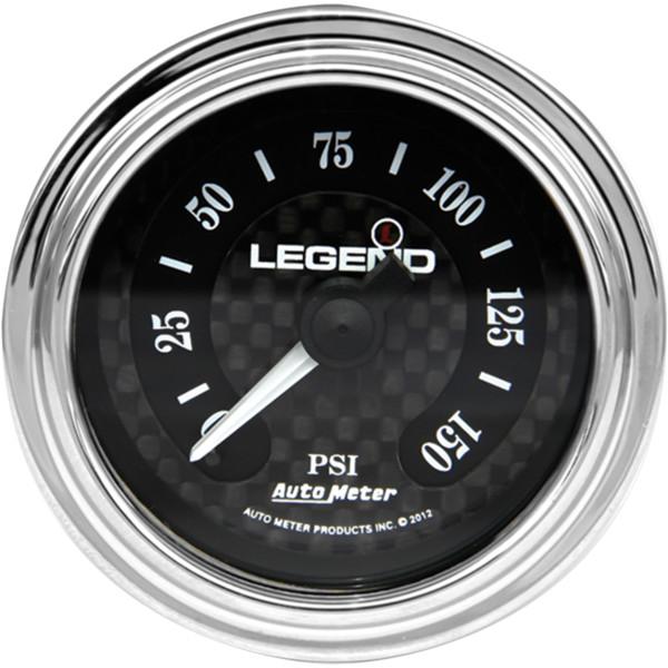 【USA在庫あり】 レジェンド LEGENDS 空気圧ゲージ 0-150psi フェアリング用 ダイヤモンドカット/ライト 2212-0494 HD