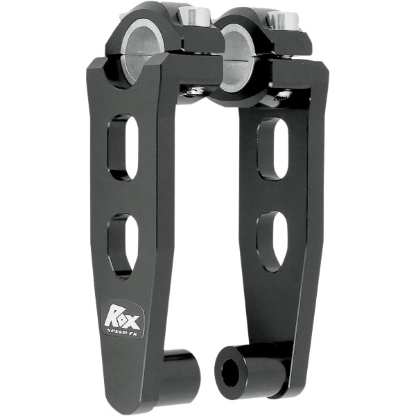 【USA在庫あり】 ロックス スピード FX Rox Speed FX ライザー 高さ127mm/ハンドル22-29mm 黒 0602-0442 HD店
