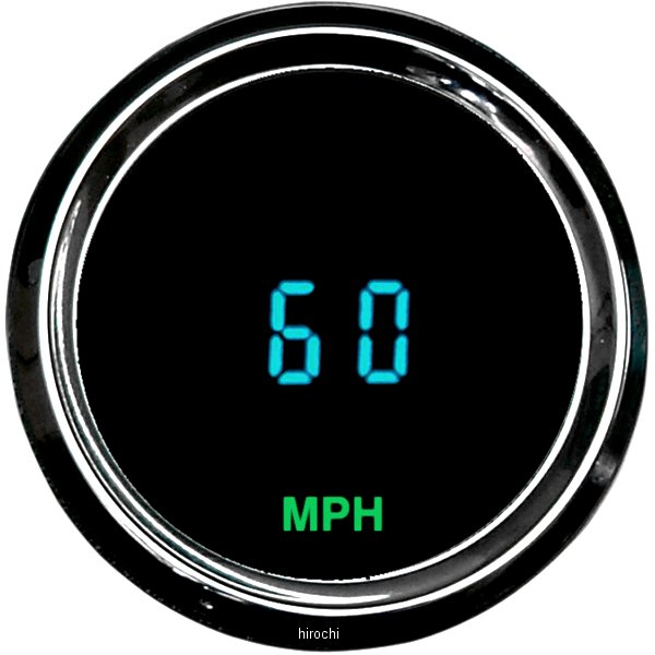 【USA在庫あり】 ダコタデジタル Dakota Digital スピードメーター(km/h、MPH) ODYSSEY II 2-1/16インチ(52mm) 211022 HD