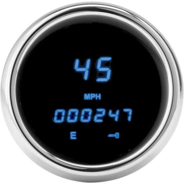 【USA在庫あり】 ダコタデジタル Dakota Digital スピードメーター(km/h、MPH) 04年-13年 FLH 青LED 211093 HD