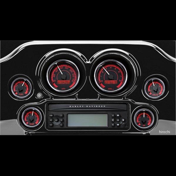 【USA在庫あり】 ダコタデジタル Dakota Digital メーター 6個セット MVX-8K 黒/赤/クロームべゼル 211285 HD