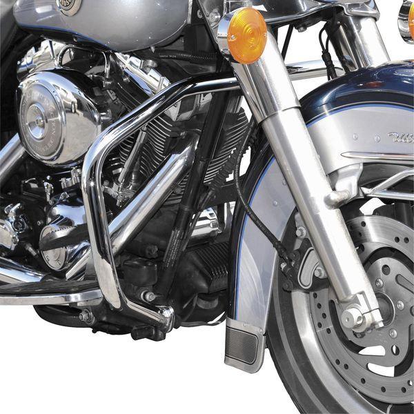 【USA在庫あり】 バイカーズチョイス Biker's Choice エンジンガード 97年-08年 FLHT、FLHR、FLHX クローム 400628 HD
