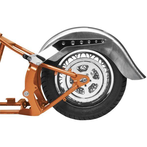 【USA在庫あり】 バイカーズチョイス Biker's Choice ワイド リアフェンダー 9インチ(229mm)幅 未塗装 489746 HD