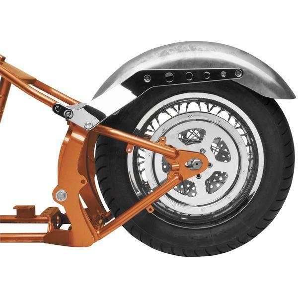 【USA在庫あり】 バイカーズチョイス Biker's Choice カスタム リアフェンダー 9インチ(229mm)幅 未塗装 493215 HD