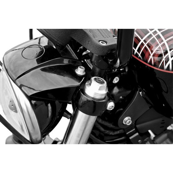 【USA在庫あり】 バーリーブランド Burly Brand フォーク プリロード アジャスター 06年-16年 FXD シルバー 771092 HD