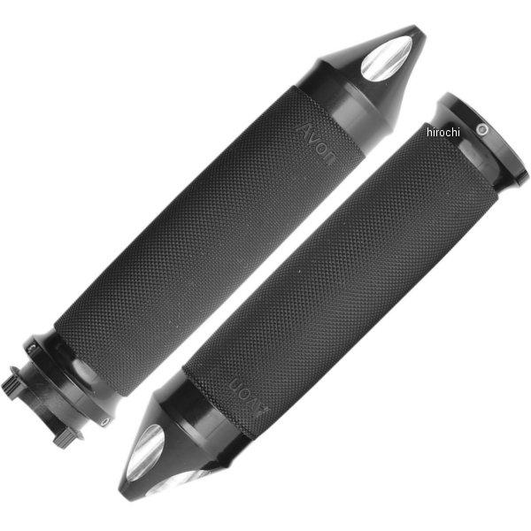 【USA在庫あり】 エイボン AVON グリップ 25mm スパイクエンド 黒 0630-0845 HD