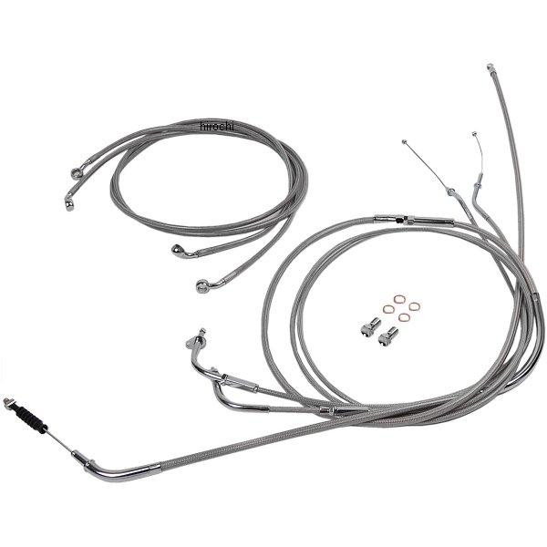 【USA在庫あり】 バロン BARON ケーブルライン セット 18インチ(457mm) 04年-10年 バルカン VN2000A ステンレス 0650-1029 HD店