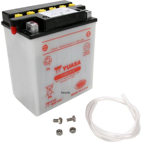 【USA在庫あり】 ユアサ YUASA バッテリー 開放型 YB14-A2 HD店