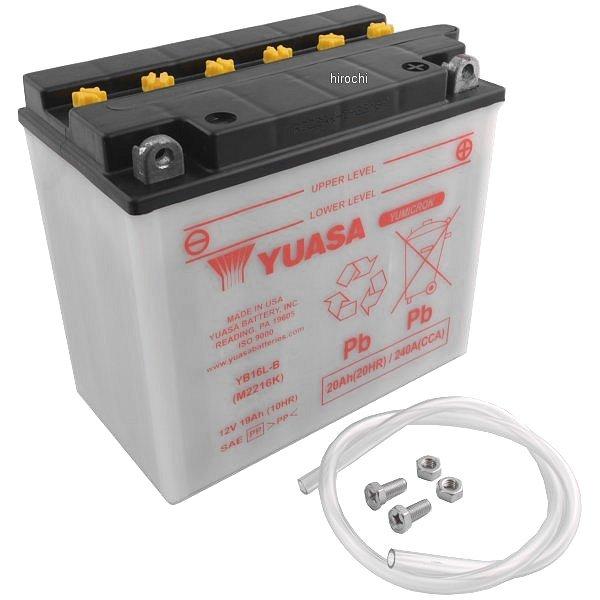 【USA在庫あり】 ユアサ YUASA バッテリー 開放型 YB16L-B HD店