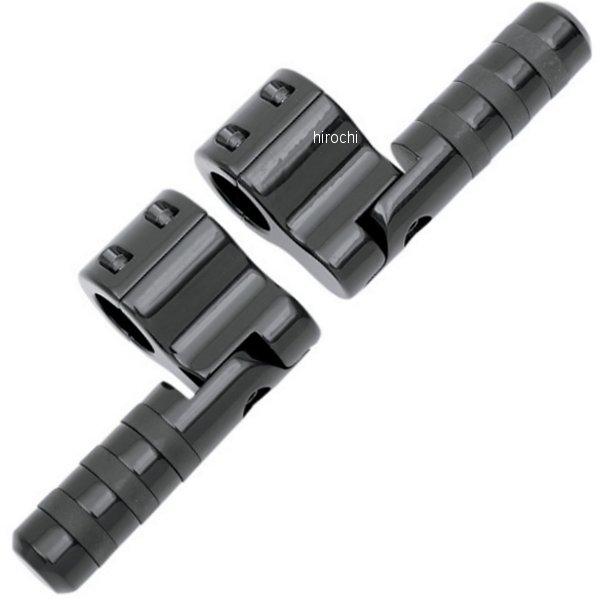 リンドバイ LINDBY ワイドバンド フットペ グクランプ-オン 1.25インチ(32mm)バー 黒 1624-0156 HD店