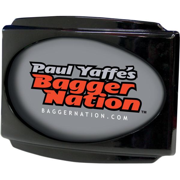 【USA在庫あり】 USLP3-B ポールヤフィー Paul Yaffe ライセンスプレートフレーム 黒 2030-0617 HD
