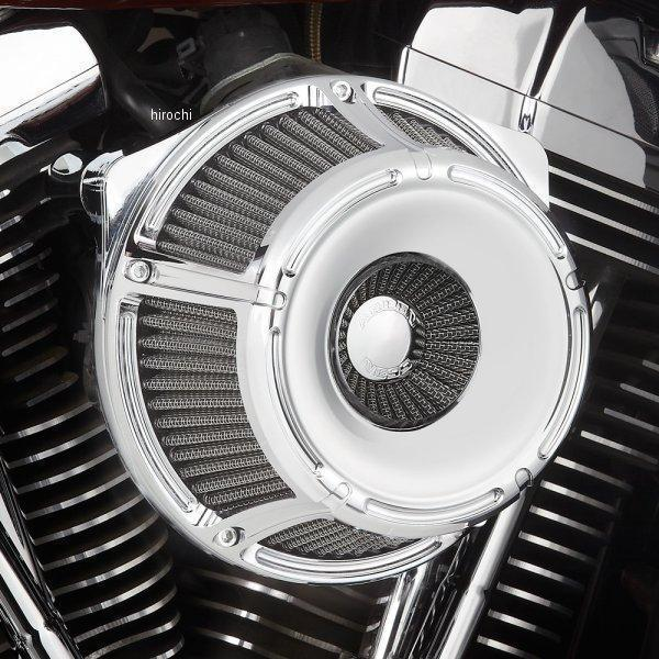 【USA在庫あり】 アレンネス Arlen Ness エアクリーナー スロットトラック インバータ クローム 91年以降 XL 18-924 HD店
