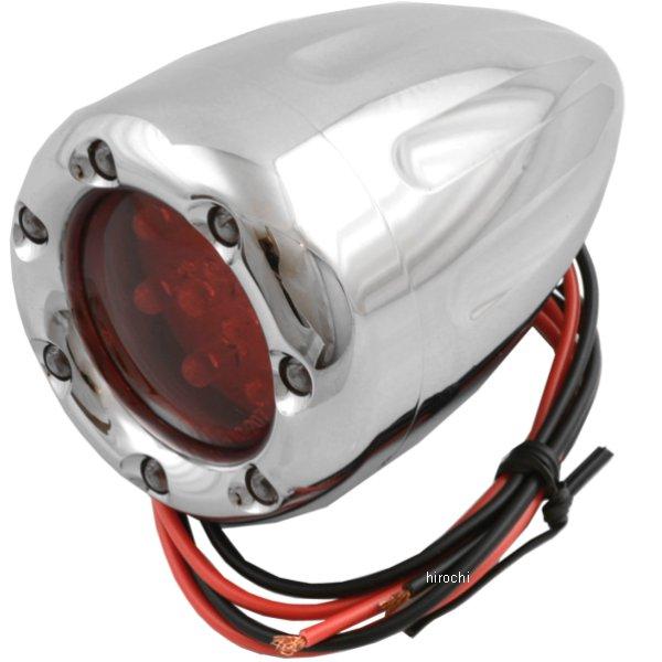 【USA在庫あり】 アレンネス Arlen Ness LED ウインカー ディープカット クローム/LED赤 シングル球 12-748 HD店