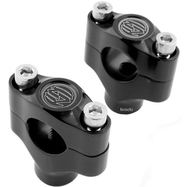 【USA在庫あり】 ローランドサンズデザイン RSD ライザー 1.5インチ高、1インチバー(左右ペア) 黒 0602-0262 HD店