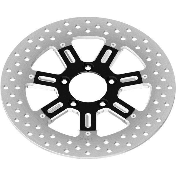 【USA在庫あり】 0133-1522DELS-SMBM ローランドサンズデザイン RSD ブレーキローター 11.5インチ フロント 左または右 デルマー コントラスト(つや消し) 00年以降 ハーレー 1710-2210 HD