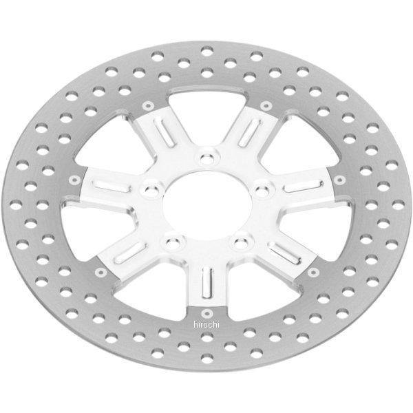 【USA在庫あり】 0133-1800DELS-CH ローランドサンズデザイン RSD ブレーキローター 11.8インチ フロント 左または右 デルマー クローム 08年-13年 FLT 1710-2213 HD