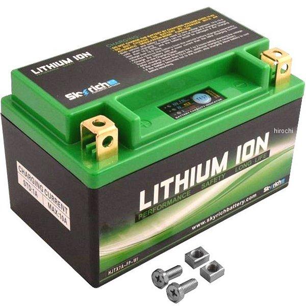 HJTX7A-FP スカイリッチ SKYRICH リチウムイオン バッテリー YTX7A-BS 4950545365026 HD店