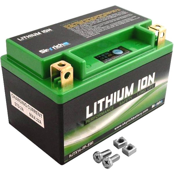 HJTX14-FP スカイリッチ SKYRICH リチウムイオン バッテリー YTX14-BS 4950545365095 HD店