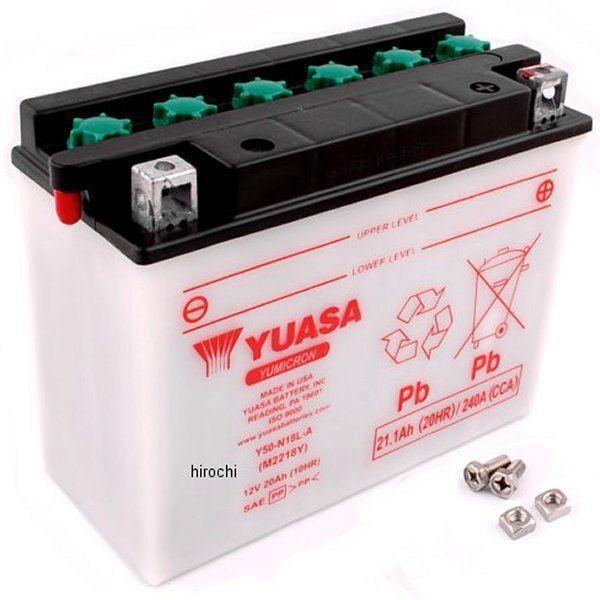 【USA在庫あり】 ユアサ YuMiCRON バッテリー 開放型 84年-96年 FLT/FLH 液無し Y50-N18L-A HD店