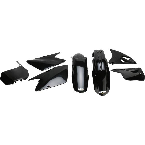 【USA在庫あり】 ユーフォープラスト UFO PLAST 外装キット 01年-02年 RM250、RM125 黒 1403-0904 HD店