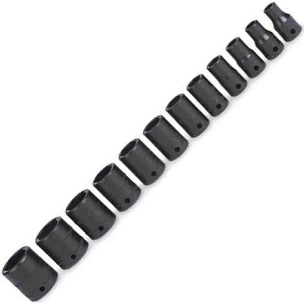 【USA在庫あり】 スナップオン Snap-on シャロー インパクト メトリック ソケット 6ポイント 12個 セット (5mm-15mm) 112IMTMM HD店
