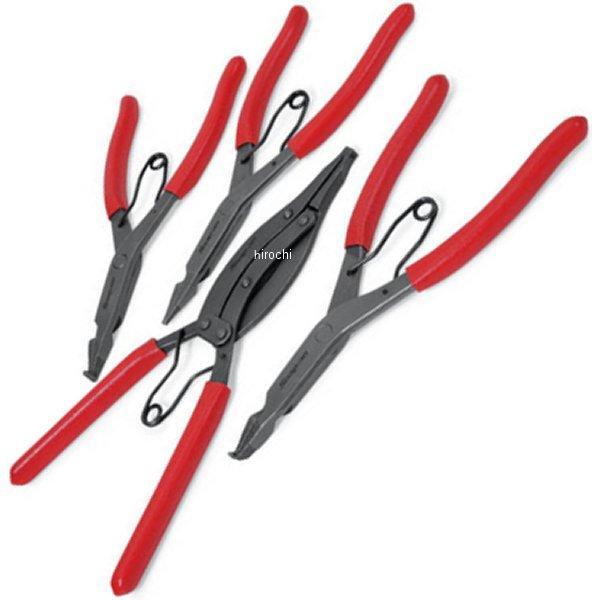お手頃価格 スナップリングプライヤーセット 4点 ハーレー 店 Snap-on HD店:ヒロチー商事 SRP400B スナップオン-DIY・工具