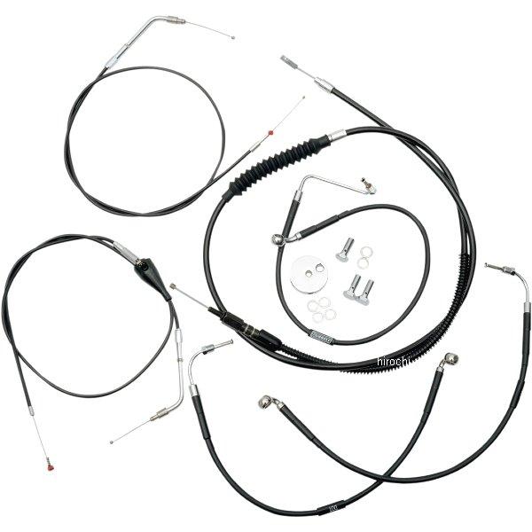 【USA在庫あり】 LAチョッパーズ LA Choppers ケーブルキット 黒 96年-07年 FLHR、FLTR 純正ハンドル用 0610-0452 HD