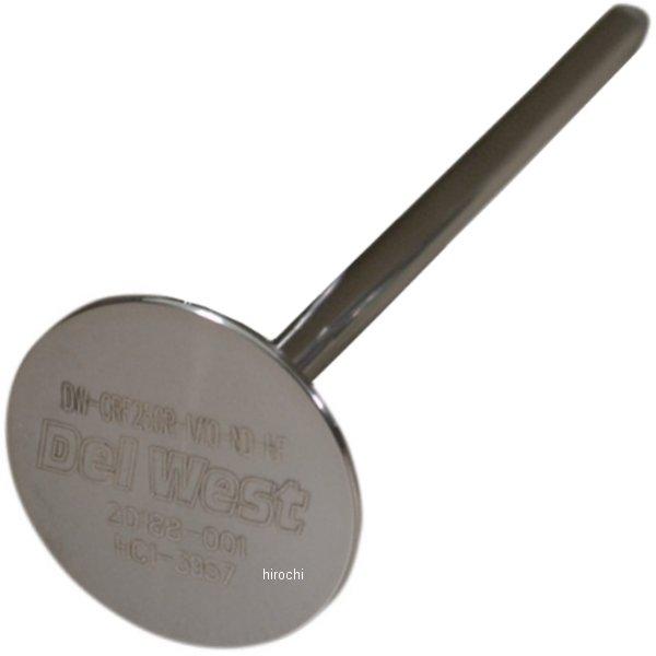 【USA在庫あり】 デルウェスト Del West バルブ エキゾースト ノーディッシュ 13年以降 CRF450R チタン (1個売り) 0926-2261 HD店