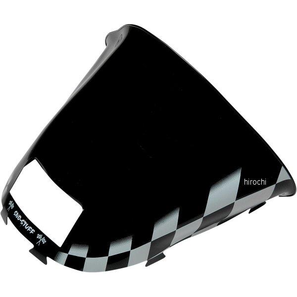【USA在庫あり】 スノースタッフ Sno Stuff ウインドシールド 13.5インチ(343mm) Ski-Doo 黒/白 479-472-55 HD店