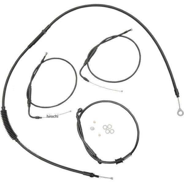 【USA在庫あり】 バーリーブランド Burly Brand ケーブル キット 黒 カフェスタイル 97年-03年 XL 0610-0749 HD店