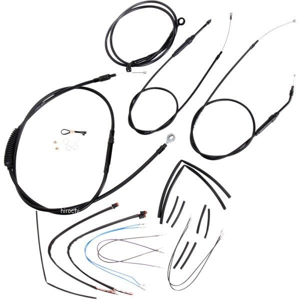 【USA在庫あり】 バーリーブランド Burly Brand ケーブル キット 黒 12年-13年 FXDB、FXDC、FXDWG 14インチ エイプバー用 773068 HD店