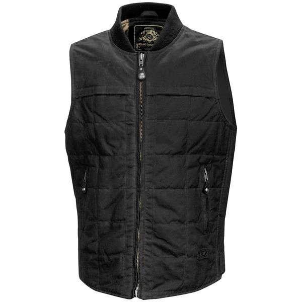 【USA在庫あり】 ローランドサンズデザイン RSD テキスタイル ベスト Ringo 黒 Mサイズ RD7575 HD店