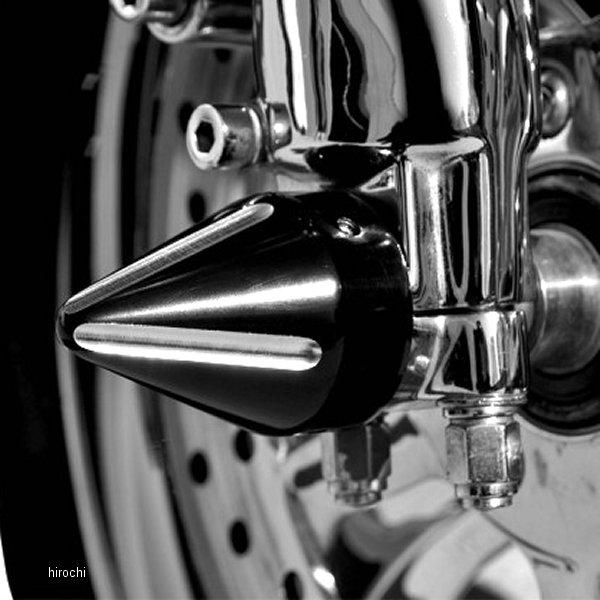 【USA在庫あり】 LAチョッパーズ LA Choppers アクスル キャップ 96年以降 スパイク 黒つや消し 0214-0654 HD