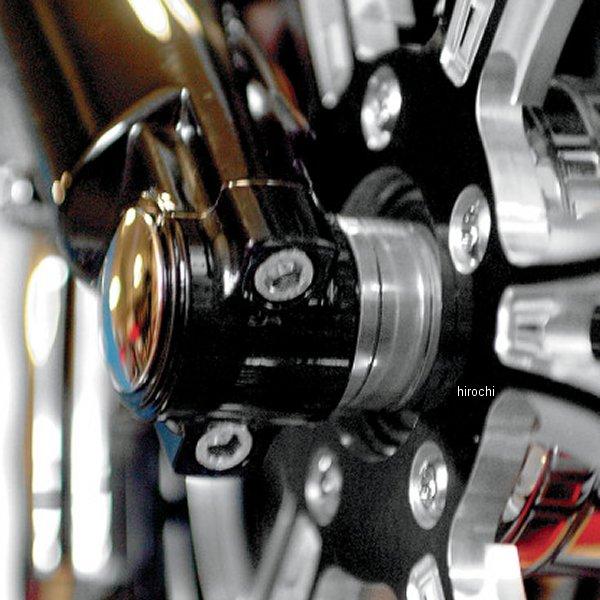 【USA在庫あり】 クロックワークス Klock Werks フロント アクスルキャップ ロワー フォークLEG用 00年-13年 FLT 黒 0403-0040 HD店