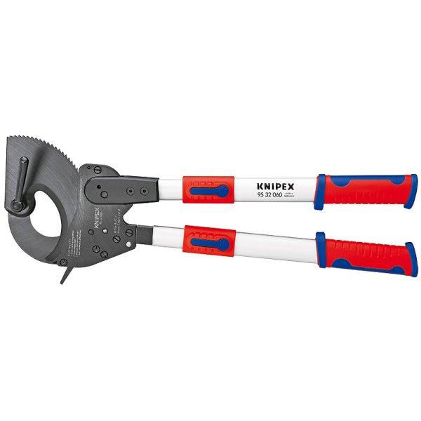 【メーカー在庫あり】 クニペックス KNIPEX ケーブルカッター(ラチェット式) 820mm 9532-100-KP HD店