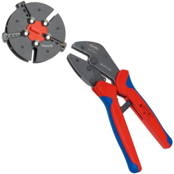 【メーカー在庫あり】 クニペックス KNIPEX マルチクリンプ マガジン式圧着工具 9733-01-KP HD店