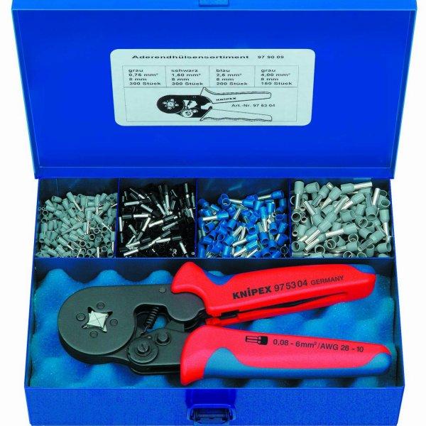 クニペックス KNIPEX 圧着ペンチセット 9790-09-KP HD店