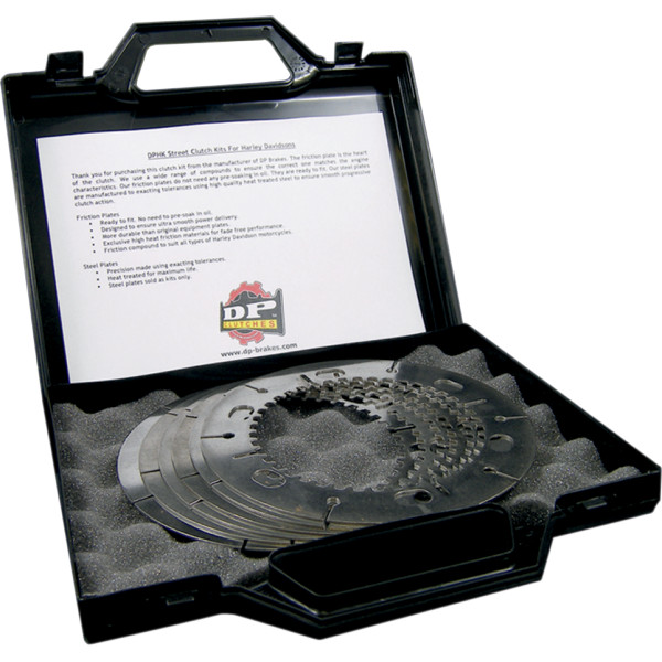 【USA在庫あり】 DPブレーキ DP Brakes フリクションプレート キット スチール 71年-84年 XL (8個入り) 1131-0293 HD店