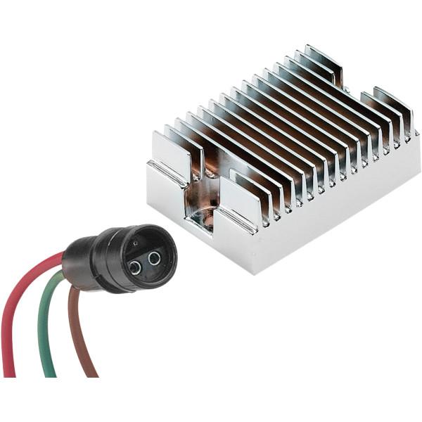 【USA在庫あり】 アクセル ACCEL レギュレータ 12V 10A 78年-81年 XL クローム 201102C HD