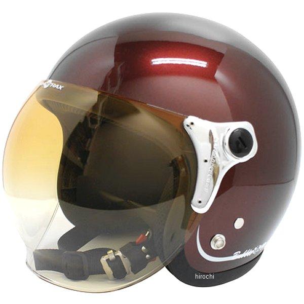 【メーカー在庫あり】 ダムトラックス DAMMTRAX ヘルメット BUBBLE BEE マルーン フリーサイズ(57cm-60cm) 4560185901692 HD店