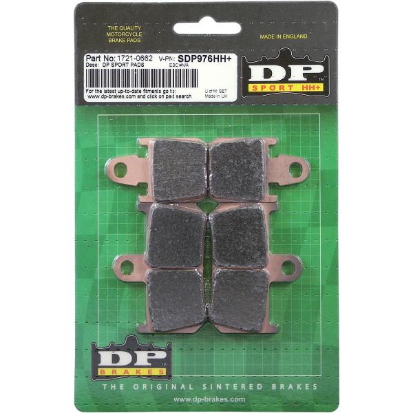 【USA在庫あり】 DPブレーキ DP Brakes ブレーキパッド フロント 09年以降 VMX1700 (HH+ シンタード) 1721-0662 HD店
