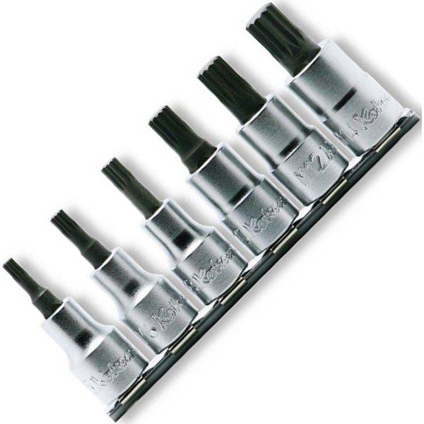 コーケン Ko-ken 1/2インチsq 3重4角ビットソケットレールセット 全長60mm 6ヶ組 RS4020-6-L60-KK HD店