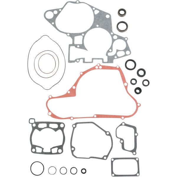 【USA在庫あり】 ムースレーシング MOOSE RACING コンプリート ガスケット オイルシール付き 98年-00年 RM125 M811548 HD店