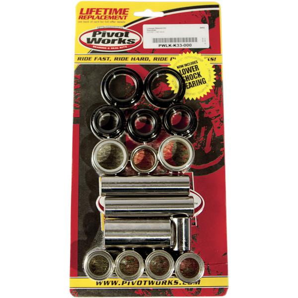 【USA在庫あり】 ピボットワークス Pivot works リンケージベアリングキット 87年-14年 KLR650 1302-0478 HD店