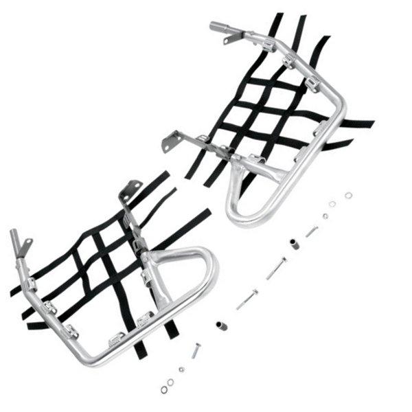 【USA在庫あり】 DGパフォーマンス DG Performance ヒールガード アロイ 04年-07年 ホンダ TRX450R 赤 0530-0050 HD店