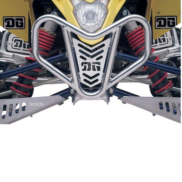 【USA在庫あり】 DGパフォーマンス DG Performance フロントバンパー V-ライト 06年-09年 スズキ LT-R450 アルミ 0530-0466 HD店