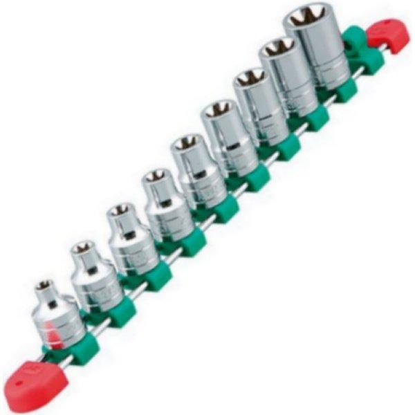 【メーカー在庫あり】 KTC 京都機械工具 12.7sq.E型トルクスレンチセット(9コ組) TB4E09-KC HD店
